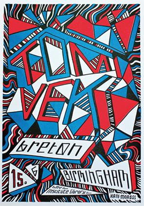 Poster: Tom Vek