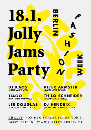 Fashion Week - Jolly Jams