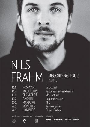 Tour-Poster Nils Frahm