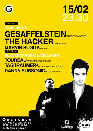 Flyer: Gesaffelstein