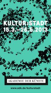 Kultur:Stadt Flyer