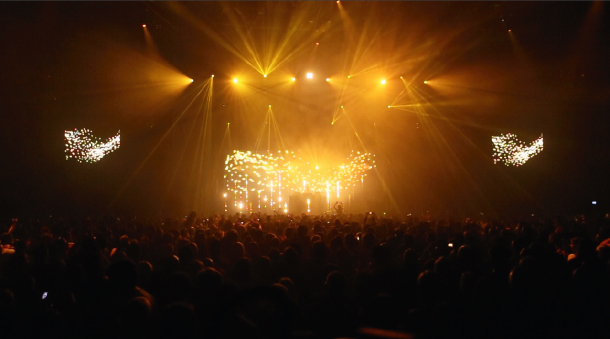 Live-Visuals: Paul Kalkbrenner
