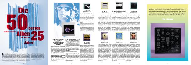 Die 50 besten elektronischen Alben