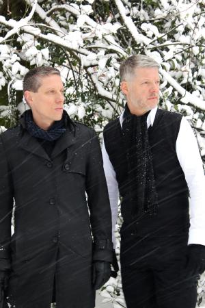 Reinhard & Wolfgang Voigt (Bild zum Vergrößern anklicken)