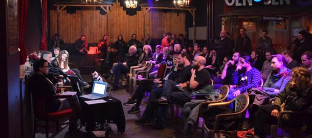Podiumsdiskussion im Ritter Butzke (Foto: David Kallen)