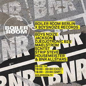 Boiler Room Berlin X BNR