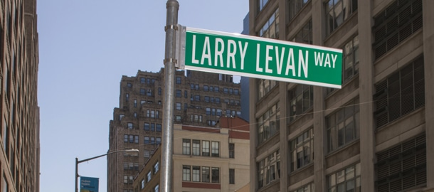 Larry Levan Street Sign