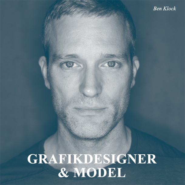 Ben Klock - Grafikdesigner, Model