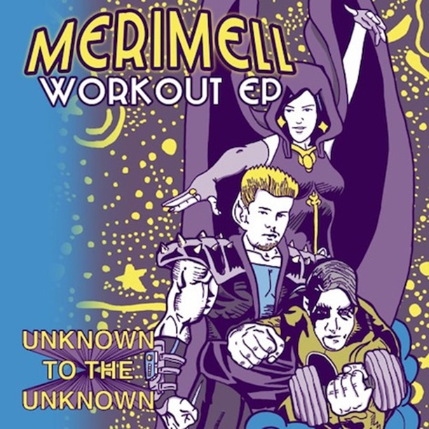 Merimell - Workout EP Cover