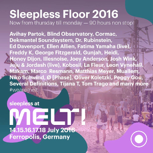 Melt! Sleepless Floor 2016