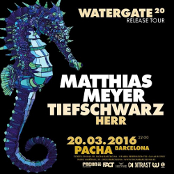 Insane presents Watergate w. Matthias Meyer, Tiefschwarz & Herr at Pacha Barcelona