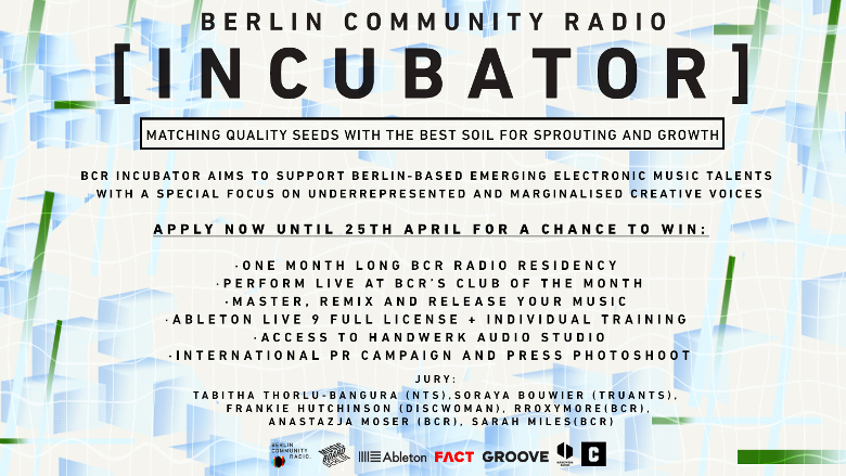 Berlin Community Radio Open Call Info