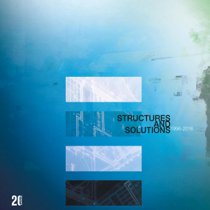 Structures And Solutions 1996-2016