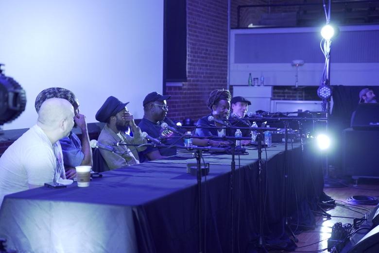 Das Panel zu Reggae Sound Systems und Dub