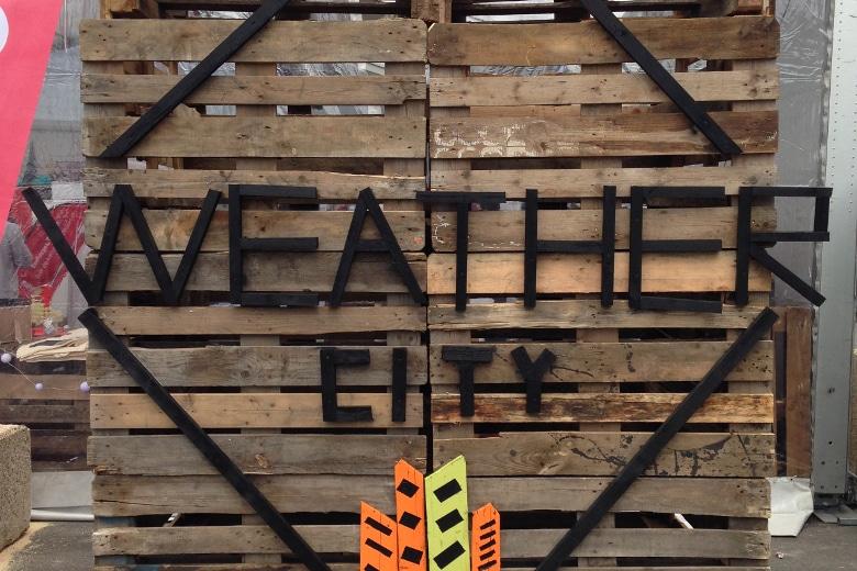 Wenn das Festival zur Musikmesse wird: Die Weather City.