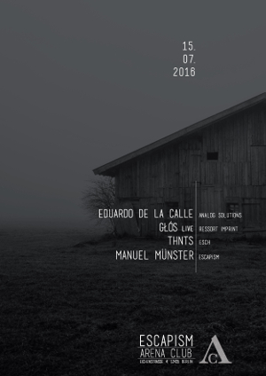 Escapism with Eduardo de la Calle