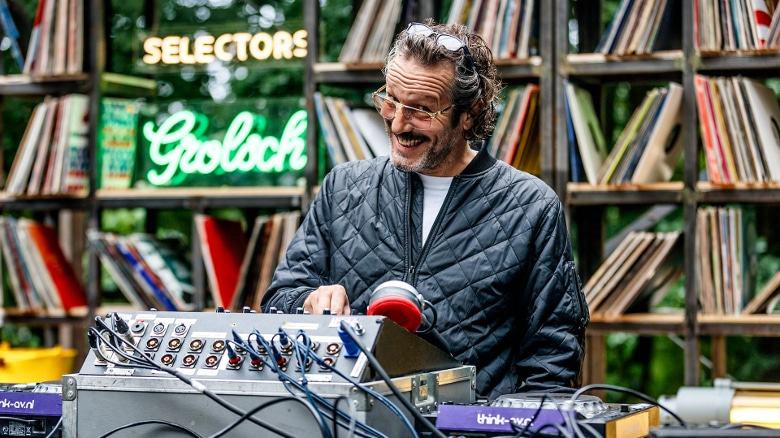 Ein Selector unter den Selectors: DJ Harvey (Foto: Bart Heemskerk)