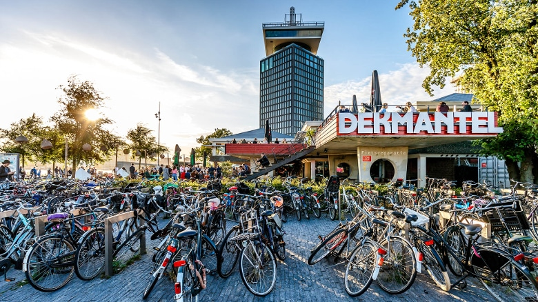 EasyJet war gestern: Das Dekmantel, Festival der Fahrräder. (Foto: Bart Heemskerk)