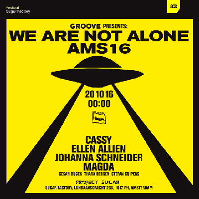 GROOVE presents: We Are Not Alone