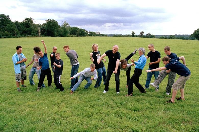 Familiär: Das Funktion One-Team im Jahr 2008.
