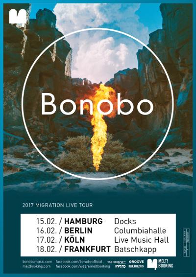 Bonobo Deutschland Tour 2017