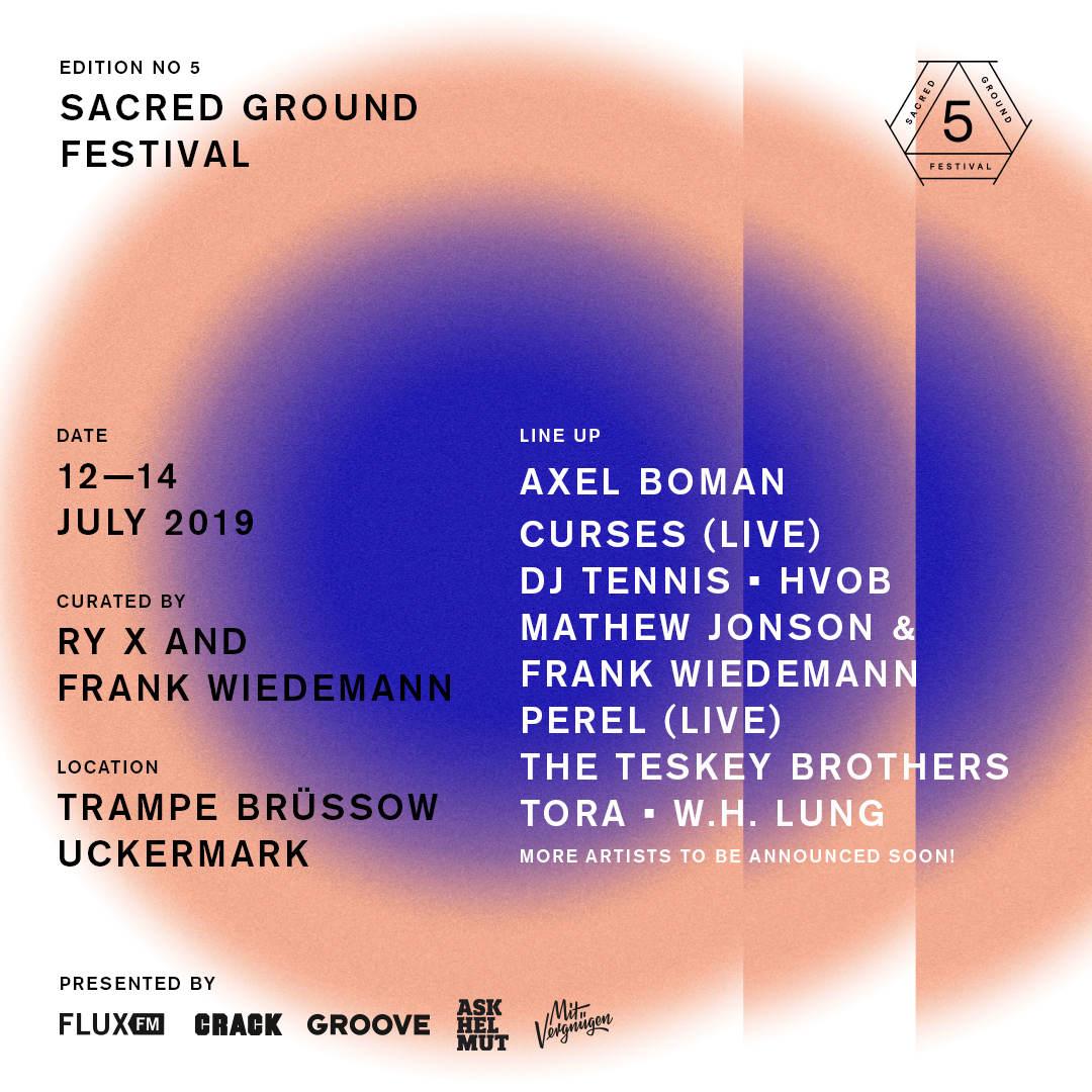 Sacred Ground Line-Up 1
