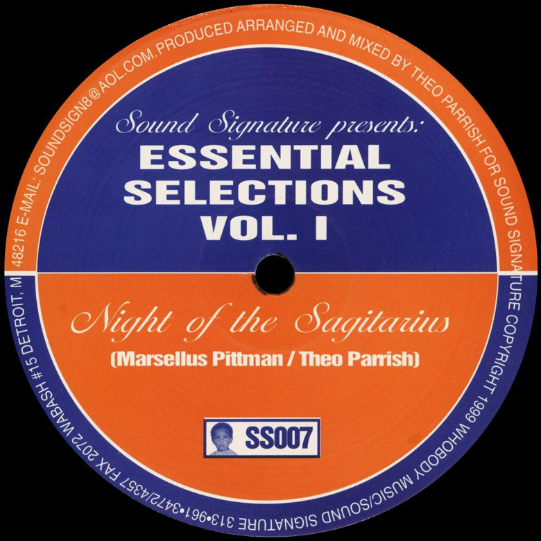 Theo Parrish & Marcellus Pittman ‎– Essential Selections 1&2 (Sound Signature)