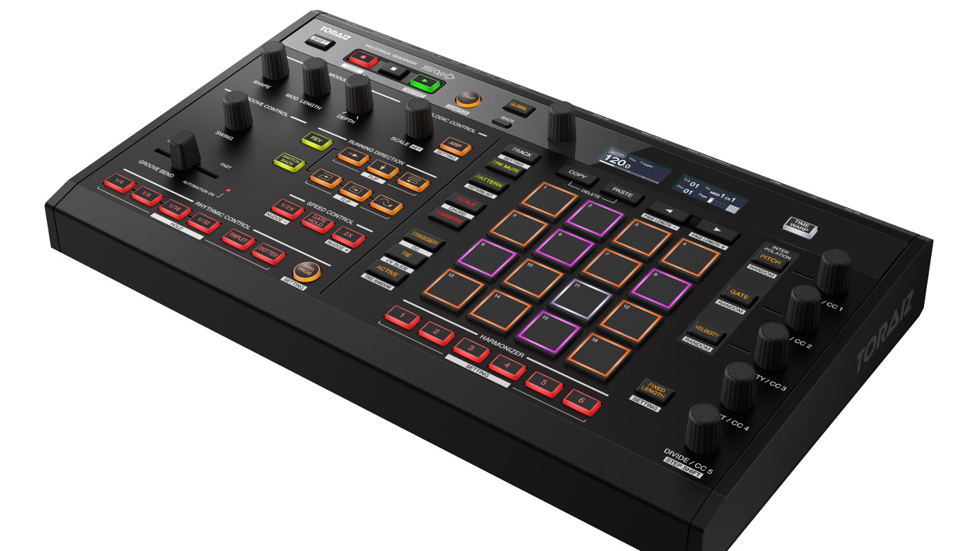 Pioneer DJ: 16 Track-Hardware-Sequencer SQUID kommt im April