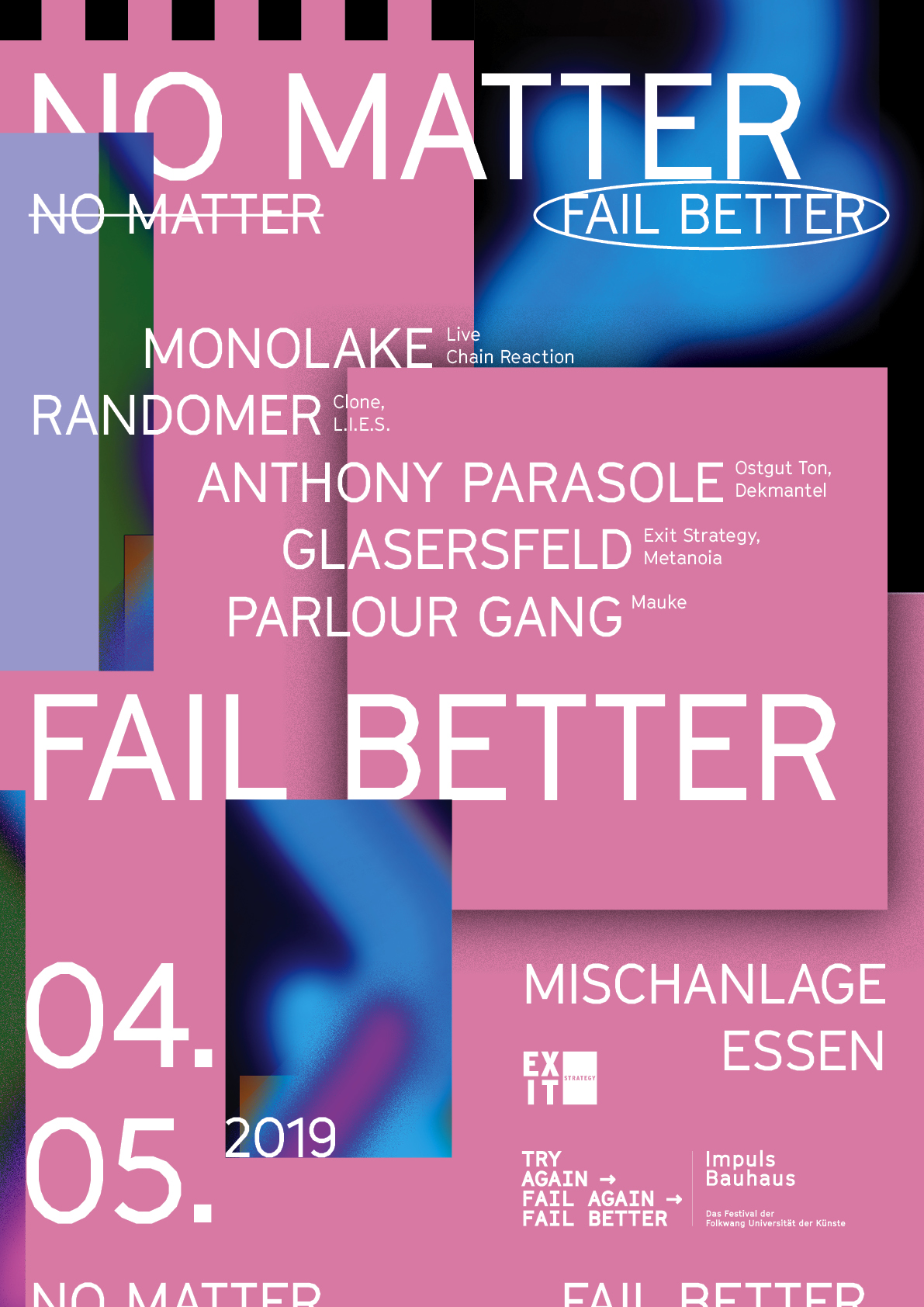 No Matter. Fail Better.