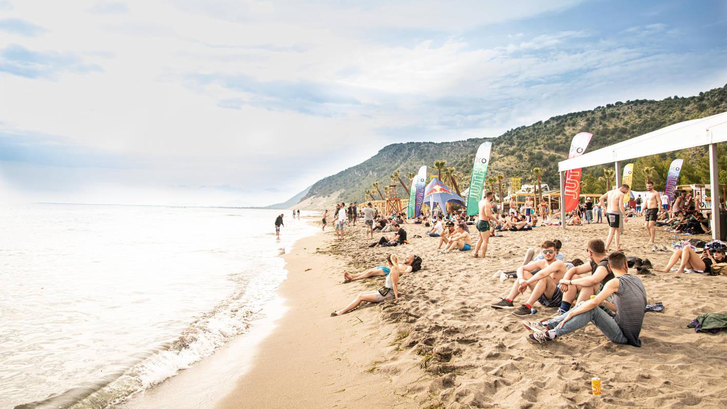 Beach UNUM by Oli Riley