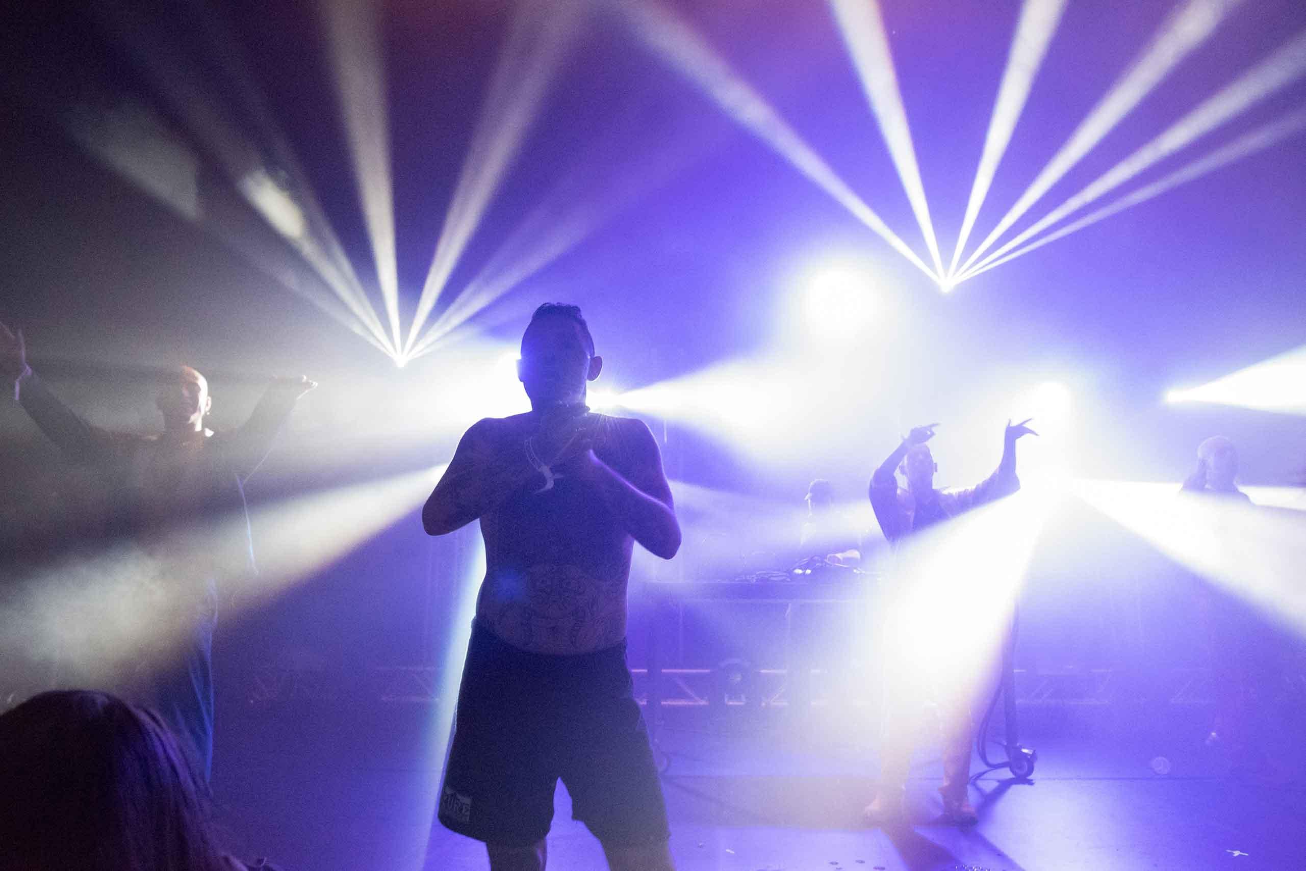 """Die """"The Hakke Show"""" von Gabber Eleganza. Foto: Daniel Jarosch."""
