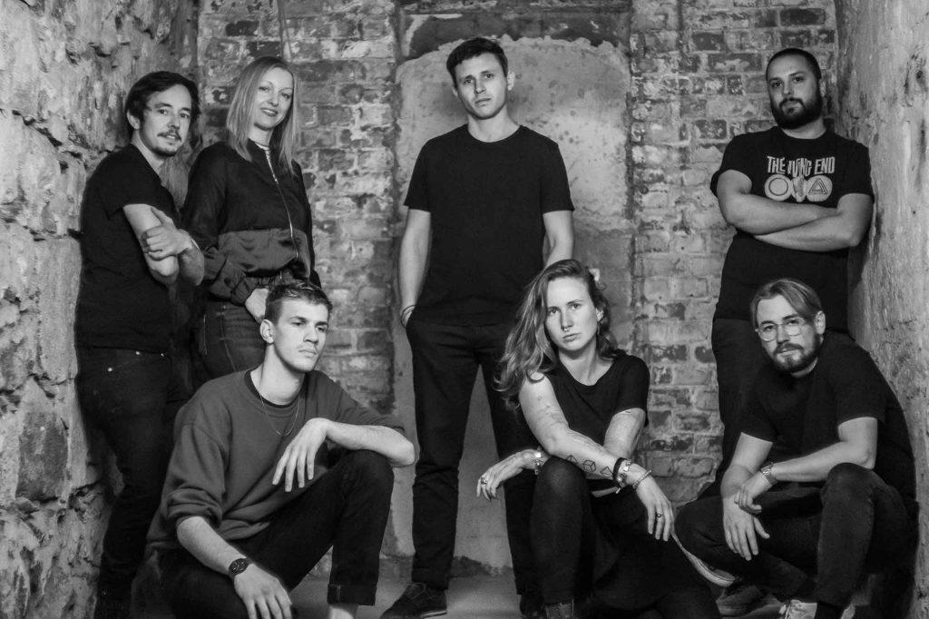 Die Resident-Crew des TBA Clubs. Foto: Felix Dunkel.