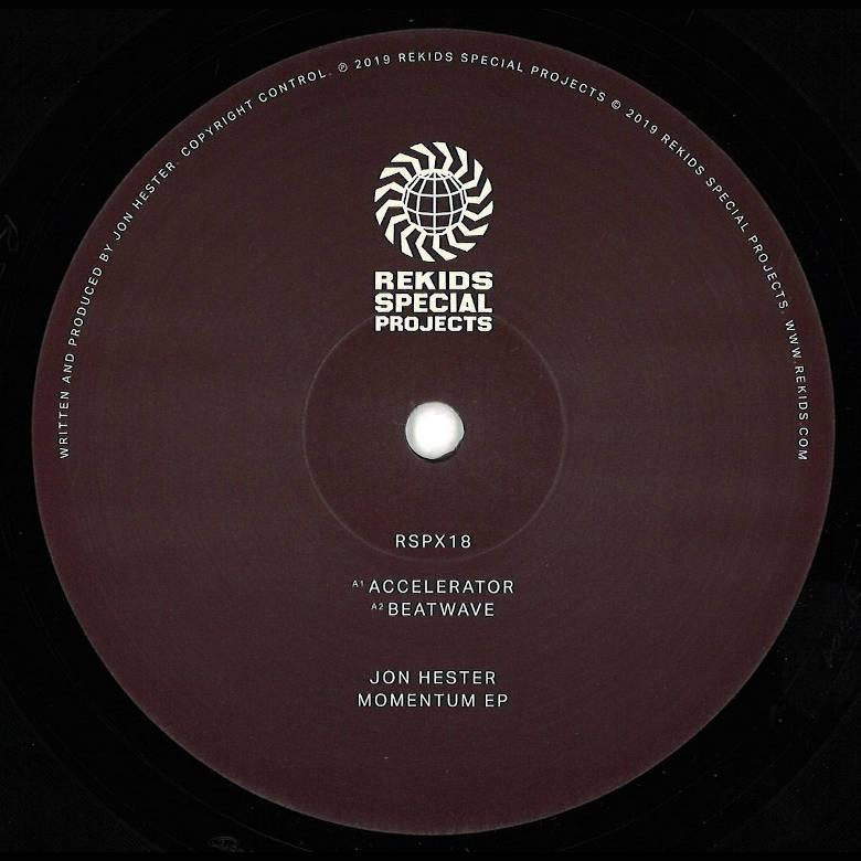 Jon Hester - Momentum EP (Rekids)