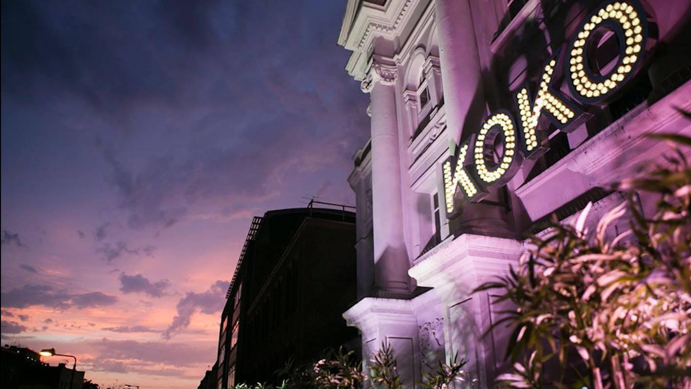 KOKO: Brand in geschichtsträchtigem Londoner Club