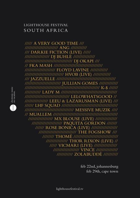 Lighthouse Festival South Africa 2020: Line-Up und Ticketverlosung!