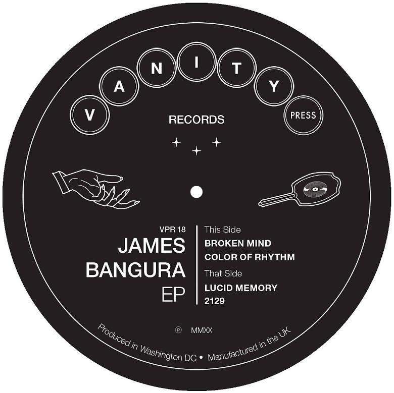 James Bangura - James Bangura EP (Vanity Press)