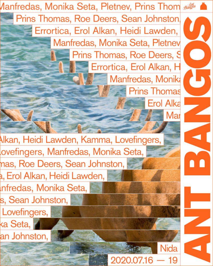 Ant Bangos 2020 Launch Flyer