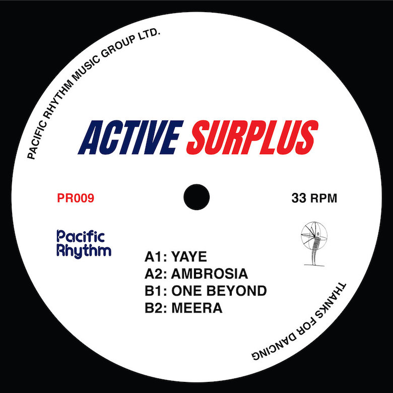 Active Surplus – Active Surplus (Pacific Rhythm)