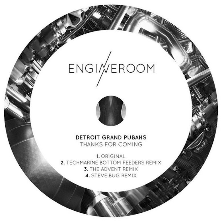 Detroit Grand Pubahs - Thanks for Coming (Engineroom)