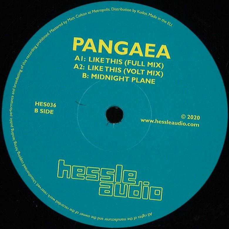 Pangaea - Like This (Hessle Audio)