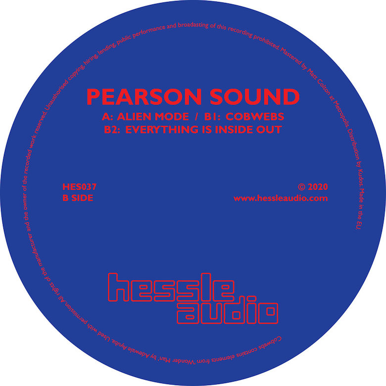 Pearson Sound - Alien Mode EP (Hessle Audio)