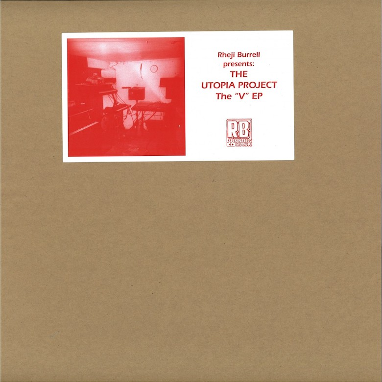 """Rheji Burell Presents- NY House 'N Authority's Out Of Body & The Utopia Project's The """"V"""" EP (Running Back)"""