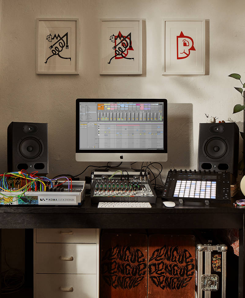 Ableton Live Creation Spaces in Berlin, Germany, on 1st September 2020 by Zoe Noble Photography.