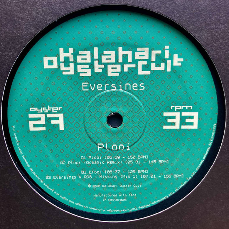 Eversines - Plooi (Kalahari Oyster Cult)