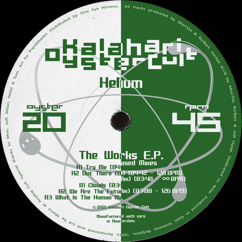 Helium - The Works EP & The Works Unreleased Mixes (Kalahari Oyster Cult)