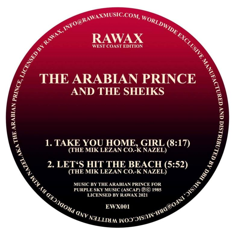 The Arabian Prince_The Sheiks - Take You Home Girl