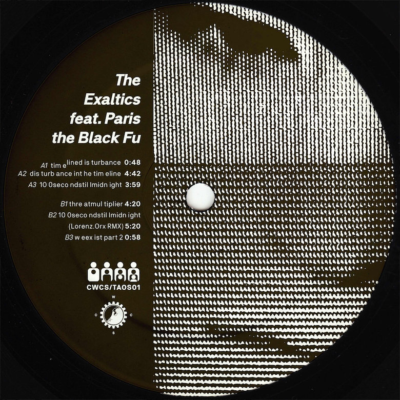 The Exaltics feat. Paris The Black Fu - Dis turb ance int he tim eline (Clone West Coast Series)