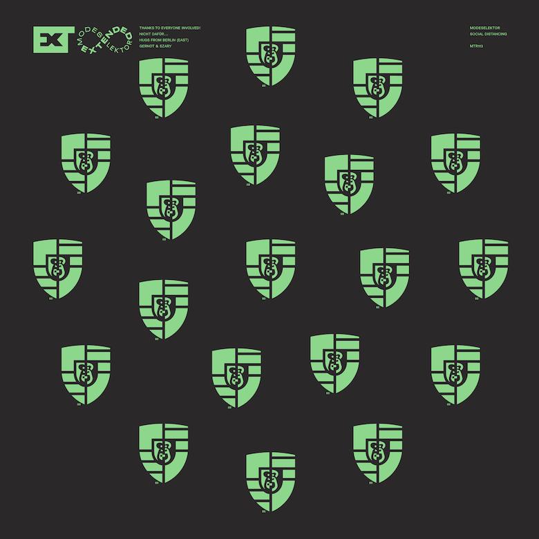 Modeselektor feat. Flohio - Social Distancing (J.Manuel & ANNA Z Remix) (MTR113)